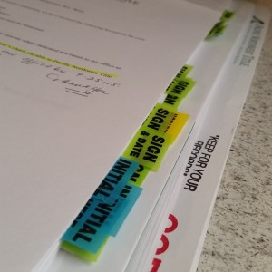 paperwork Adoption without the father's consent