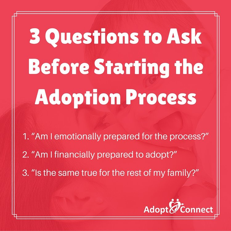 3 Questions to Ask Before Starting the Adoption Process